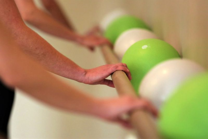 Hands on the Handrail